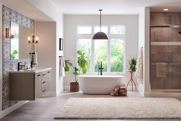 Modern Simplicity Bathroom Gallery