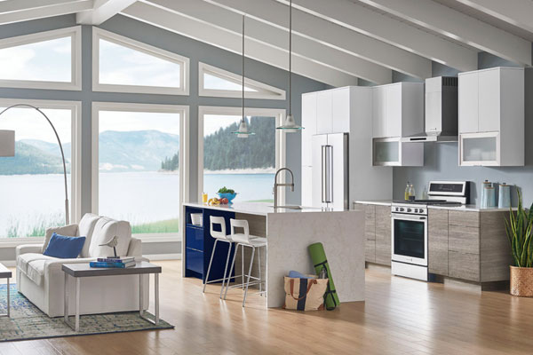 Coastal Sleek Kitchen Gallery